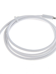Car Male to Male 3.5mm Audio AUX Cable for Mobile Phone MP3 CD TV White