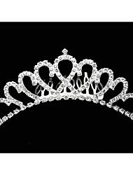 Women's Rhinestone / Crystal / Alloy Headpiece-Wedding / Special Occasion Tiaras 1 Piece