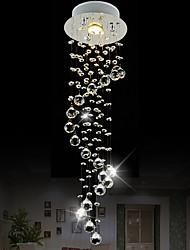 Luci Pendenti ,  Contemporaneo Cromo caratteristica for Cristallo Stile Mini CristalloSalotto Camera da letto Sala da pranzo Cucina Bagno