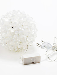 50-LED 3W im Freien Urlaub Dekoration RGB-LED-String-Licht 220v
