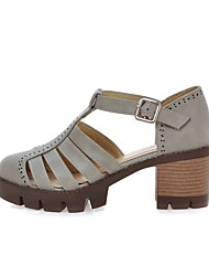 Women's Shoes Leatherette Flat Heel Fashion Boots / Comfort / Shoes & Matching Bags / Round ToeSandals / Flats /