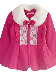 Girl's Jacket & Coat,Cotton Winter Blue / Pink / Red