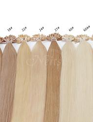 "Neitsi 20""  1g/s 50g Keratin Fusion U Nail Tip Straight Human Hair Extensions"