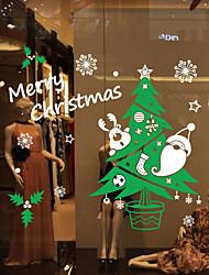 Животные / ботанический / Рождество / Слова и фразы / Геометрия Наклейки Простые наклейки,VINYL 68*65CM
