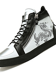 Men's Shoes Casual Fashion Sneakers / Athletic Shoes Black / White