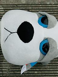 bambu cão carvão decoração do carro dos desenhos animados