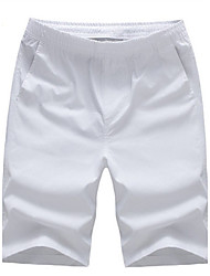 Men's Shorts,Casual Solid Cotton