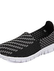 Черный / Синий / Коричневый / Хаки Мужская обувь Для прогулок / На каждый день / Для занятий спортом PU Без застежки / Лоферы