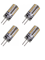 4 x G4 GZ4 MR11 MR16 3W 48x3014SMD 280LM Warm/Cool White Waterproof LED Corn Bulbs AC/DC12-16V AC220V-240V