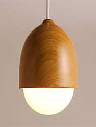 Northern Europe Style wood grain Glass Pendant Lights Restaurant,Cafe ,Game Room light Fixture