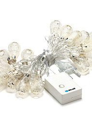 BRELONG 20-LED 3.5m Christmas Holiday Decoration Warm White String Light (AC220V)