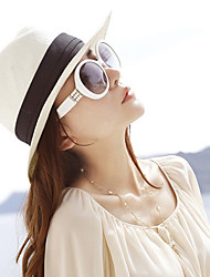 Women Straw Solid Beach Sun Hat,Cute / Party / Casual Spring / Summer / Fall