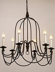 MAX 40W Pendelleuchten ,  Retro Korrektur Artikel Feature for Ministil / Candle-Art MetallWohnzimmer / Schlafzimmer / Studierzimmer/Büro