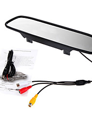 5 Inch TFT-LCD 480X272 Car Rearview Monitor High Quality