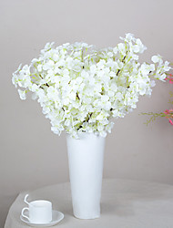1 Pieces Heads High Quality Artificial Sakura Flower Orchids Simulation Flower Home Decoration