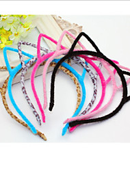 Cute Cat Ear Colorful Fur Headband Casual 1 piece