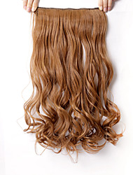 """Com Presilha Tecido Extensões de cabelo 110 22"""" Alongamento"""