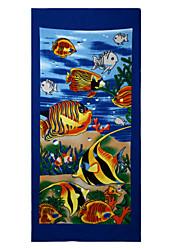"""Drap de plage-Impression réactive- en100% Polyester-70*150cm(27.5""""*59"""")"""