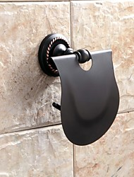 Contemporary Oil Rubbed BronzeWall Mounted Toilet Paper Holders/Bathroom Gadgets
