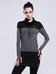 Women  Sports Professional Hoodie Tshirt Fitness Running Sweater Yoga Top  Quick Dry Gym Sportswear Fleece More Colors