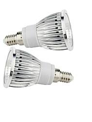 2 шт E14 9w 1x початка 50-150lm 2800-3500 / 6000-6500k теплый белый / холодный белый местная подсветка AC 85-265V