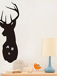 Animaux / Bande dessinée / Romance / Tableau noir / Mode / Vacances / Paysage / Forme / Fantaisie Stickers murauxTableaux Noirs Muraux