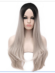 Sweet Lolita 65 Medium  Grey Ombre Lolita Wig Cosplay Wigs