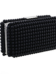 Women Imitation Pearl Shoulder Bag / Clutch / Evening Bag / Wristlet-White / Black / Champagne