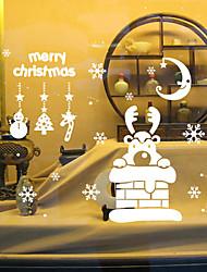 Животные / Рождество / Романтика / Праздник Наклейки Простые наклейки,vinyl 42*47.3cm