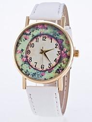 Women's Fashionable Leisure Geneva Retro Flower Garden Quartz Watch