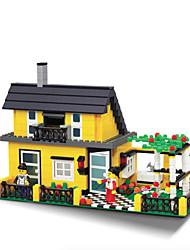 dr wan, le neue Villa Gebäude Plastikblöcke Spielzeug Puzzle zusammengesetzt 32051