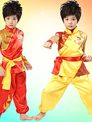Performance Outfits Children's Performance Satin Sash/Ribbon 3 Pieces Red / Yellow