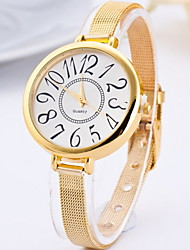Women's Dress Watch Fashion Watch Quartz Alloy Band Gold