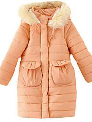 Girl's Jacket & Coat,Nylon Winter Blue / Orange