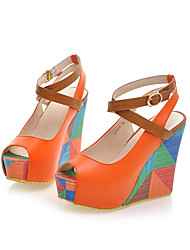 Women's Shoes Wedge Heel Peep Toe Pumps Dress Shoes More Colors available