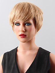 Graceful Spiffy Top Sale Human Hair Wig  Hair Short Wig 14 Colors to Choose