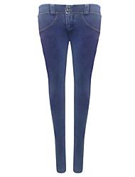 Shaperdiva Women's  Skinny Sports Butt Lifting Jeans Leggings