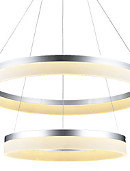 LED Ring Pendant Light Lighting Ceiling chandeliers Lamp Fixtures with 60W D46080CM CE FCC ROHS