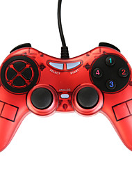 USB-900 Dual Shock Joypad for PC Red