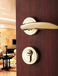 Dorlink® Classic Brass Golden Keyed Entry Door Lock