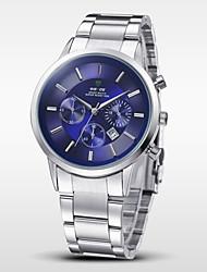 WEIDE® Men Quartz Sport Watch Luxury Brand Full Steel Complete Calendar Wristwatch Cool Watch Unique Watch Fashion Watch