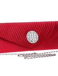 L.west Women Fold Diamonds Evening Bag