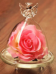 European Style Glass Artificial Flowers for Home Decoration 1pc/set(Random Color)