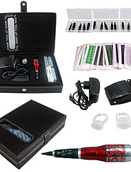 Solong Tattoo Permanent Makeup Kit Tattoo Pen Eyebrow Lip Machine Set EK703-5