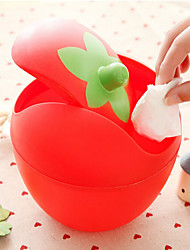 Sweet Roll Cover Type Trash Barrels Storing Small Objects Random Color