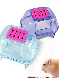 plastique hamster sauna désodorisation petit sable hamster animal qualité salle de bain salle de pot