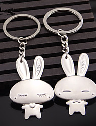 A Pair Small Couple Rabbit Wedding Favors Couple Key Chains Bridal Shower  Keychains Lot
