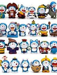 Doraemon Movie PVC 4cm Anime Action Figures Model Toys Doll Toy 1 Set