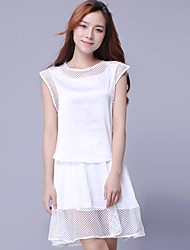 2016 New Summer Women Top+Skirts/ Suit