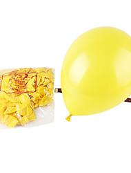 10 Zoll Hochzeitsdeko verdickte Ballon 100pcs / set